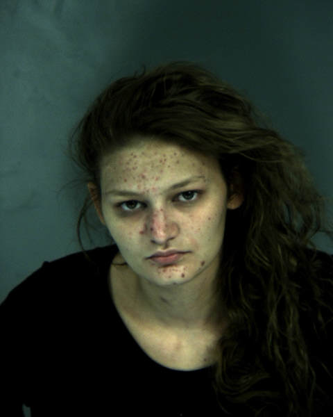 woman with meth face
