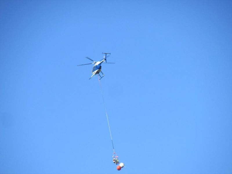 helicopter with PG&E