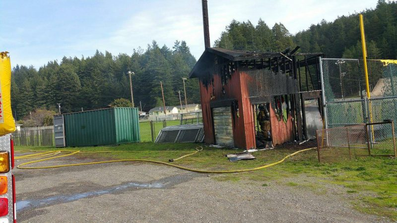 Batting cage, arson, Fortuna