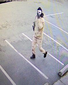 Masked burglar