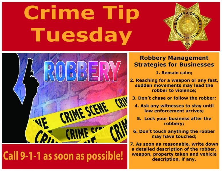 Crime Tip Tuesday for businesses