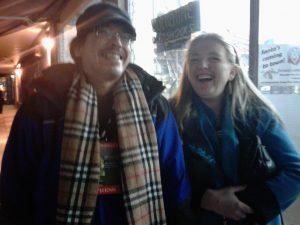 Bob Kroeker( Staff Reporter) & Kym Kemp