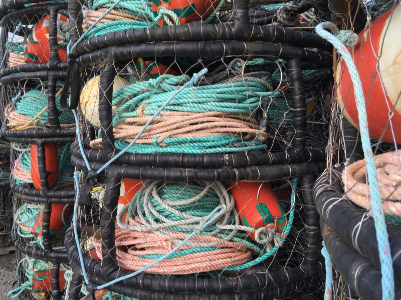 crab pots by Oliver Cory
