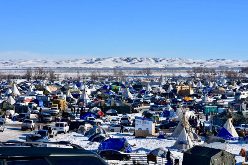 Standing Rock camp By Michela Hernandez