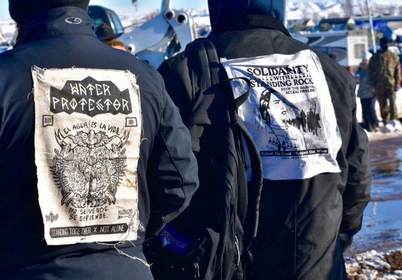 Standing Rockwater protectors By Michela Hernandez