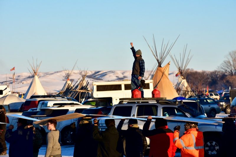 Standing Rock protestBy Michela Hernandez