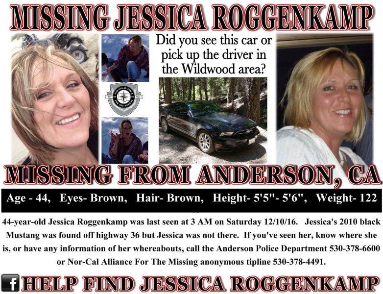 Jessica Roggenkamp missing poster