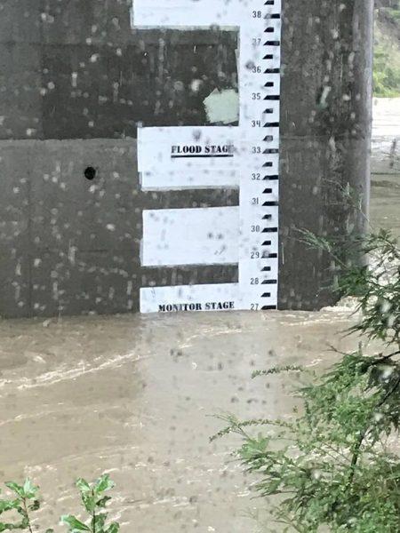 Flood monitor Chris Valk