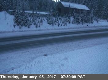 Berry Summit snowy