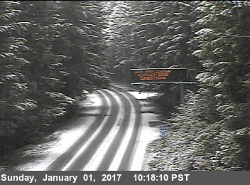 snow on road from traffic cam