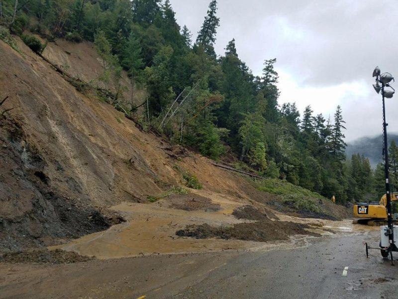 slide. Caltrans photo.