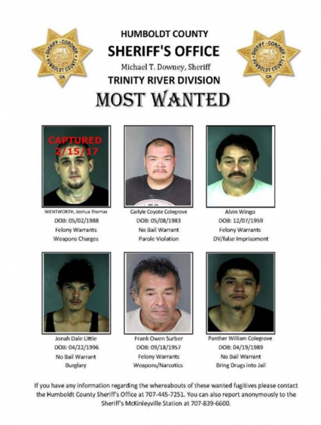 Humboldt County most wanted