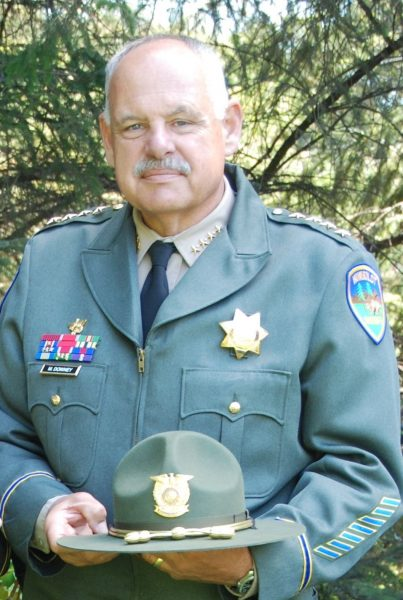 Sheriff Mike Downey Press release photo