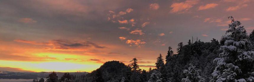 Humboldt Hills at Sunrise