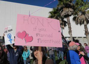 Planned Parenthood Protest {Photos by Bonnie Glantz]