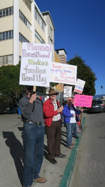 Planned Parenthood Protest {Photos by Bonnie Glantz]