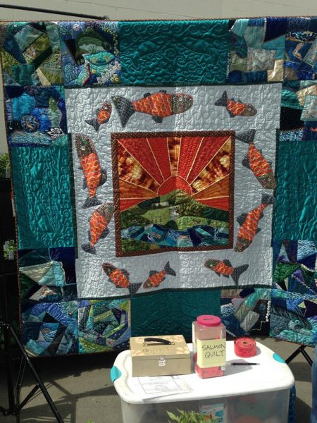 Salmon Creek Community School Salmon Quilt
