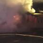 Fire and smoke warehouse