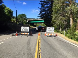 CHP closes Road