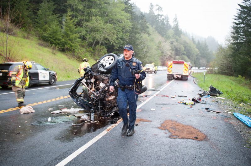 Car Accident California Yesterday