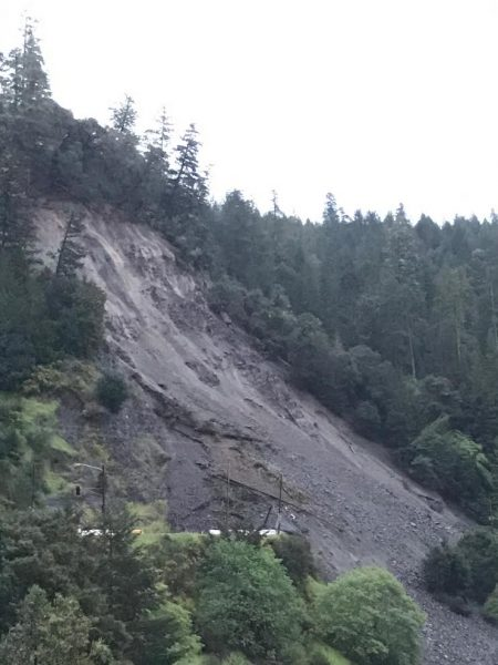 Bridges Creek Slide
