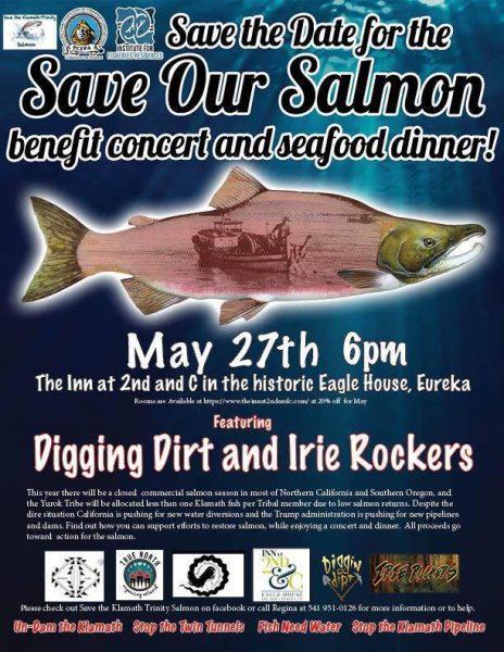 Salmon fundraiser