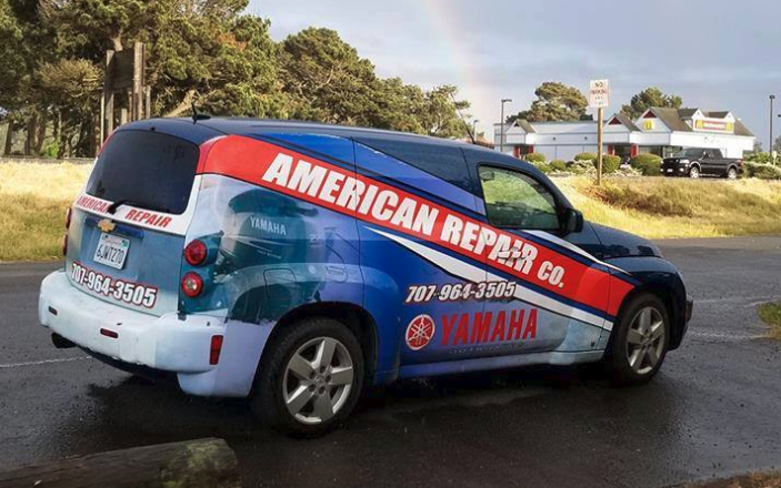 American Repair Co Van