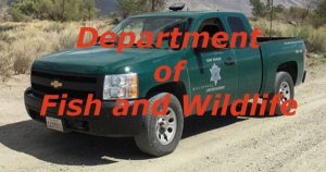 Fish and wildlife truck