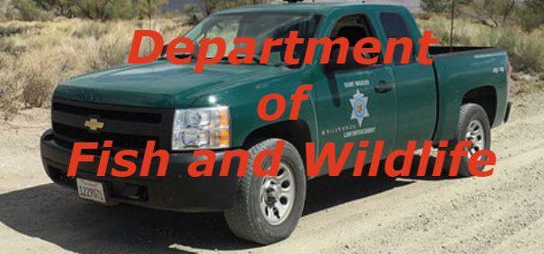 Fish and wildlife truck