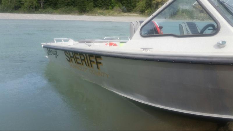 Humboldt COunty Sheriff's boat.