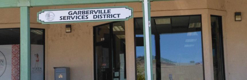 Garberville Sanitary District water