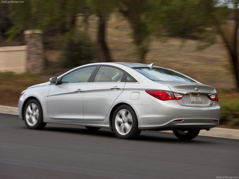 silver 2011 Hyundai Sonata