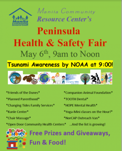 HEalth and safety fair poster