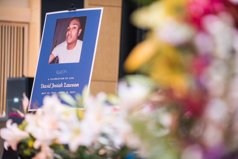 David Josiah Lawson memorial