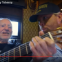 Willie Nelson and Toby Keith on the Wacky Tobaccy video