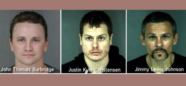 Three mugshots