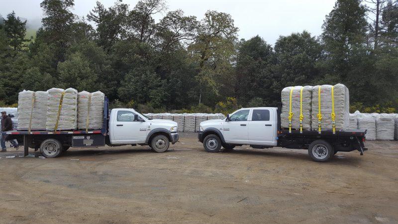 Twin Soil trucks