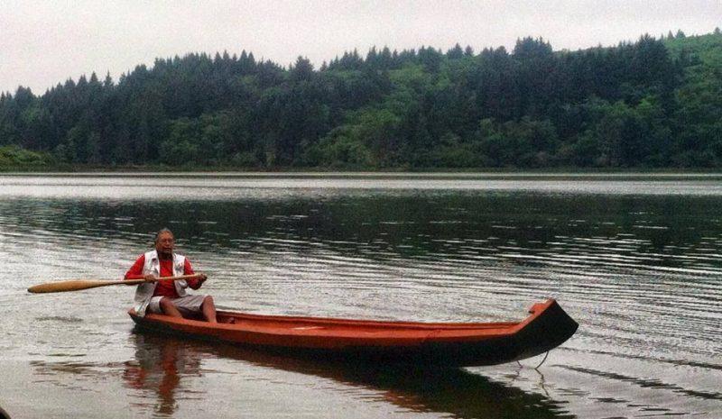 Yurok Canoe