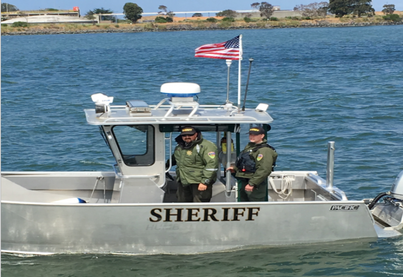 Hum co Sheriff's Boat