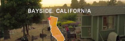 Sceengrab of Bayside California WWOOF farm video