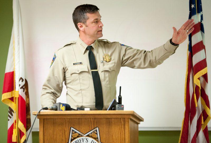 Humboldt County Sheriff William Honsa