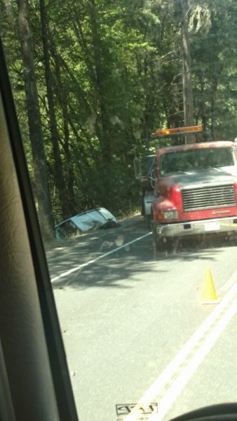 UPDATE 5:03 p m ] Fatal Accident North of Laytonville