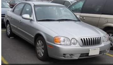 2003 Silver Kia Optima