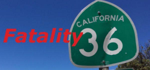 Hwy 36 Fatal fatality