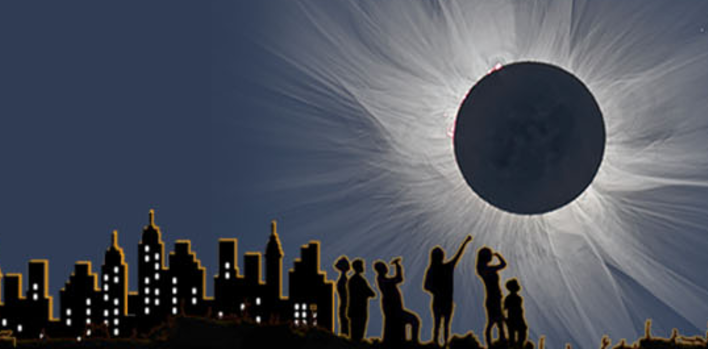 Solar eclipse feature