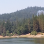 Fire at Ruth Lake