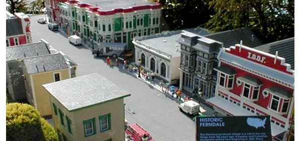 A LEGO Ferndale, Wikipedia Commons