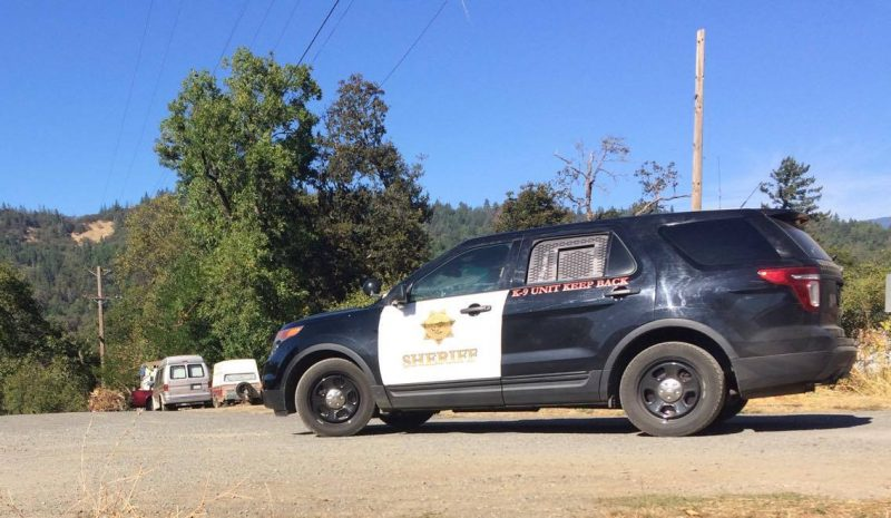 Humboldt County Sheriff K-9 vehicle