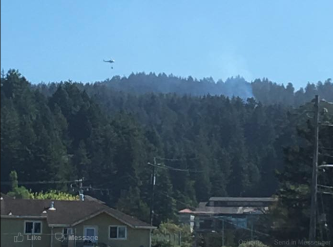 Helicopter fire HSU