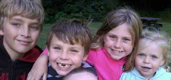 Four kids who lost their father to suicide